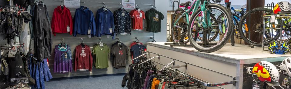 Bikeshop in Südtirol